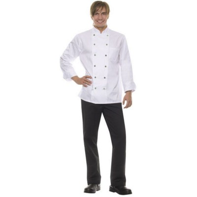 MICHAEL CHEF JACKET in White