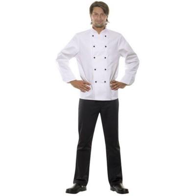 KARSTEN CHEF JACKET in White