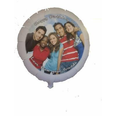 Picture of WHITE 22 INCH FOIL BALLOON