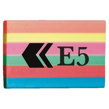 Picture of BG E5 RAINBOW STRIPE ERASER