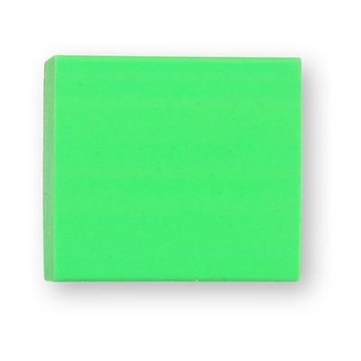 Picture of TPR E4 SOLID ERASER in Green