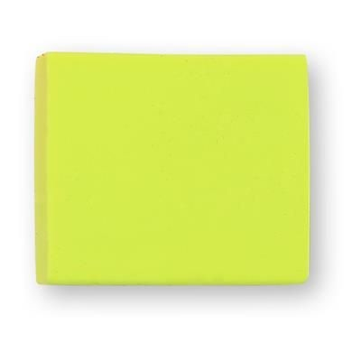 Picture of TPR E4 SOLID ERASER in Yellow