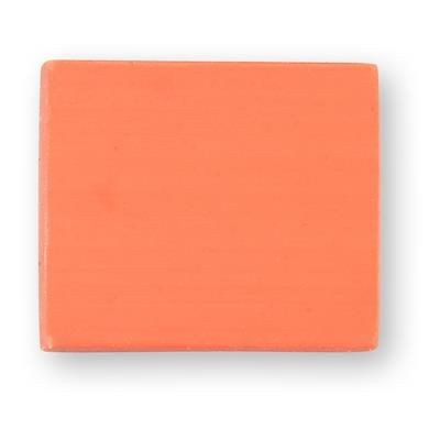 Picture of TPR E4 SOLID ERASER in Orange