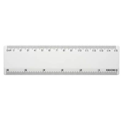 Picture of BG RULER in White