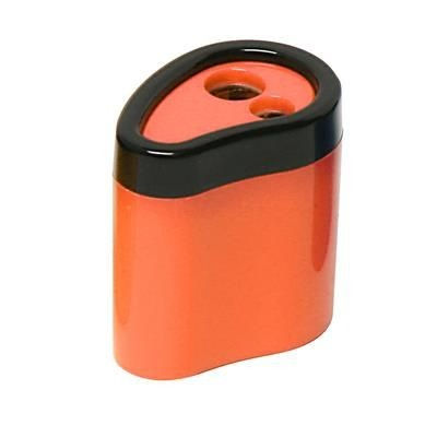 Picture of NEON FLUORESCENT 2 HOLE SHARPENER in Solid Orange