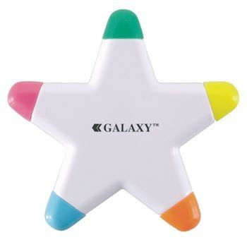 Picture of GALAXY EYECATCHING STAR SHAPE HIGHLIGHTER