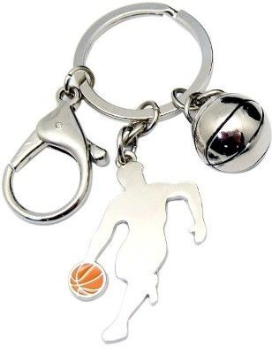 Picture of BASKETBALL THEME KEYRING