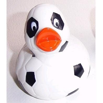 Picture of FOOTBALL RUBBER DUCK
