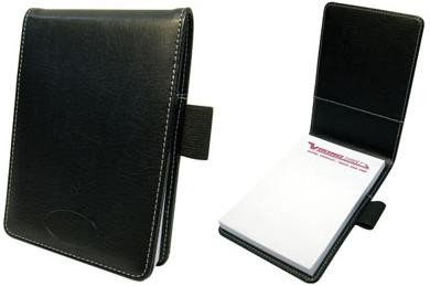 Picture of A5 CONFERENCE JOTTER PAD HOLDER in Black PU