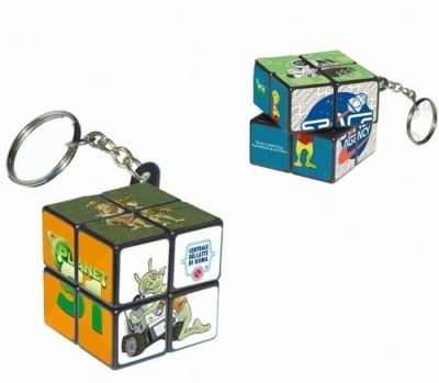 Picture of CUBE PUZZLE KEYRING