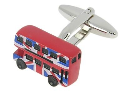 Picture of LONDON BUS CUFF LINKS