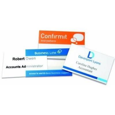 Picture of CONFERENCE NAME BADGE in Clear Transparent