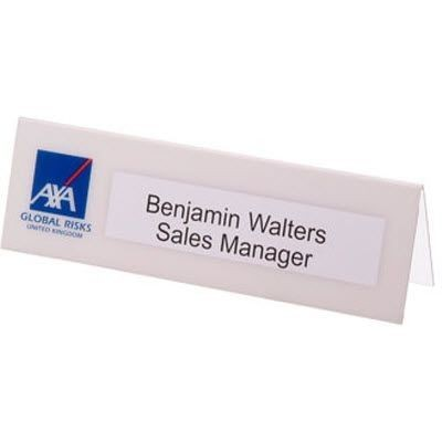 Picture of LARGE DESK NAMEPLATE