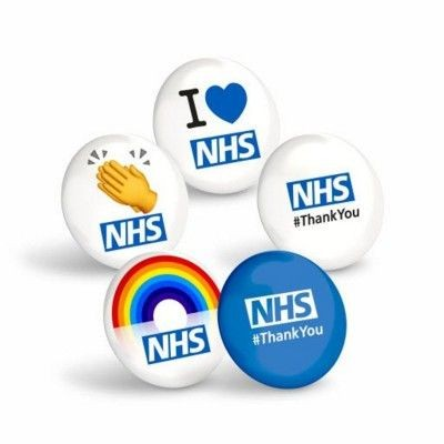 Picture of THANK YOU NHS BADGE