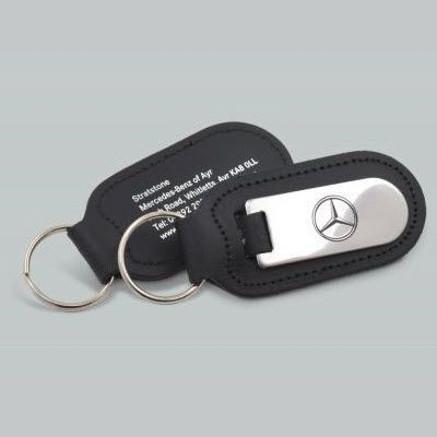 Picture of LEATHER KEYRING FOB