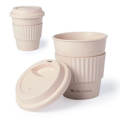 Picture of ELSDON 380ML BAMBOO TRAVEL CUP