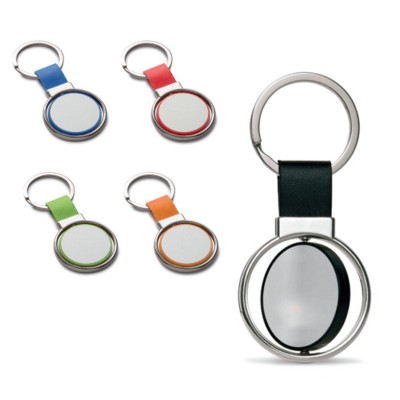Picture of COLOURFUL CIRCLE KEYRING