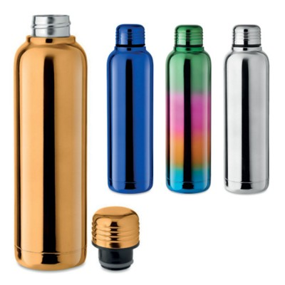Picture of DOUBLE WALL STAINLESS STEEL METAL FLASK