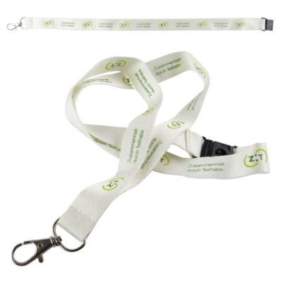 Picture of BAMBOO FIBRE LANYARD