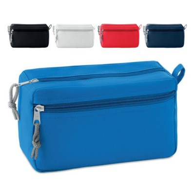 Picture of 600D POLYESTER ZIP BEAUTY BAG