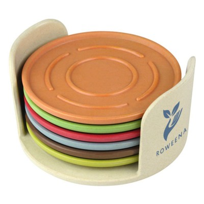 Picture of COLOURFUL COASTER SET