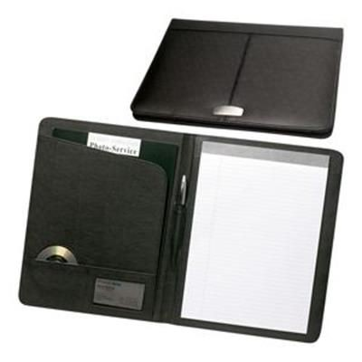 Picture of YORK A4 LEATHER CONFERENCE FOLDER