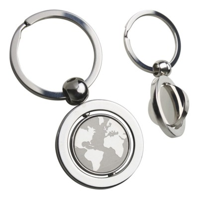 Picture of SWIVEL GLOBE KEYRING