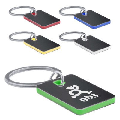 Picture of METAL RECTANGULAR KEYRING