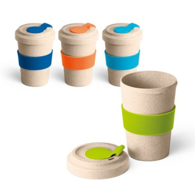 Picture of SLEEVED BAMBOO TRAVEL MUG
