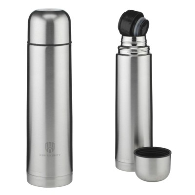 Picture of STAINLESS STEEL METAL 1 LITRE FLASK
