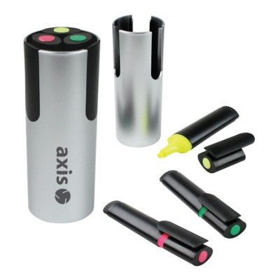Picture of TRIPLE HIGHLIGHTER PEN POT