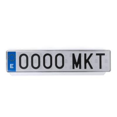 Picture of LICENSE PLATE FRAME KABIZ