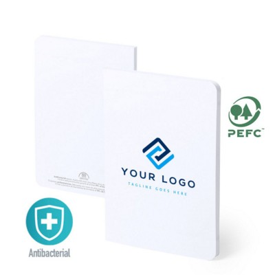 Picture of ANTIBACTERIAL NOTE BOOK NELTEC