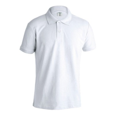 Picture of ADULT WHITE POLO SHIRT KEYA MPS180