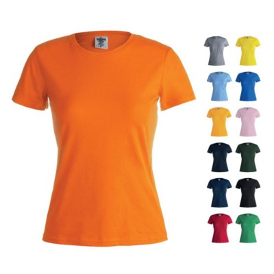 Picture of LADIES COLOUR TEE SHIRT KEYA WCS180