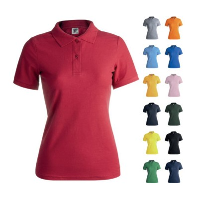 Picture of LADIES COLOUR POLO TEE SHIRT KEYA WPS180