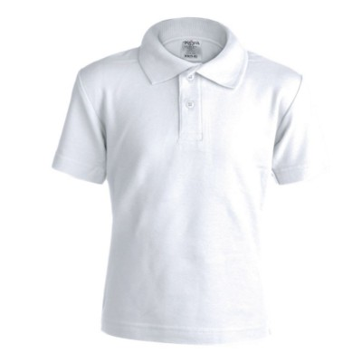 Picture of CHILDRENS WHITE POLO SHIRT KEYA YPS180