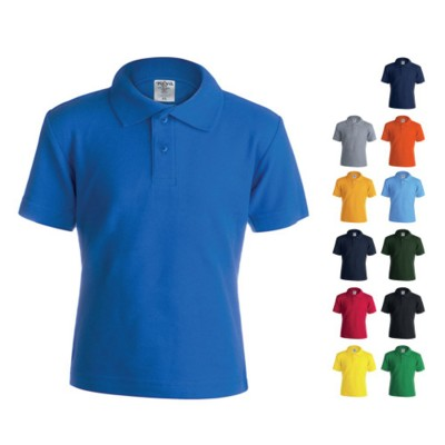 Picture of CHILDRENS COLOUR POLO TEE SHIRT KEYA YPS180