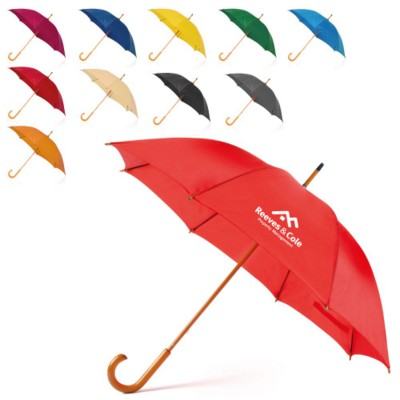Picture of TRADITIONAL 23 INCH WOOD CROOK UMBRELLA