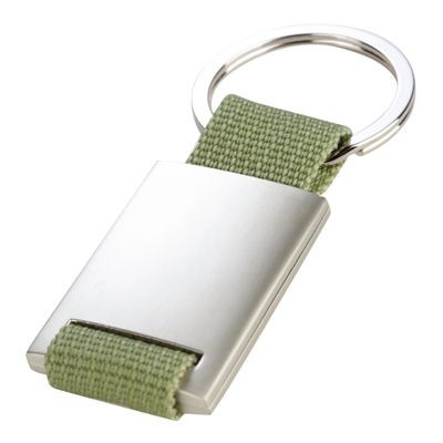 Picture of STRAP KEYRING in Green