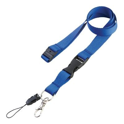 Picture of EXPRESS 20MM SAFETY LANYARD in Blue