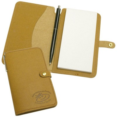 Picture of ECO NATURAL LEATHER JOTTER PAD