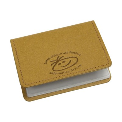 Picture of ECO NATURAL LEATHER BUSINESS CARD WALLET