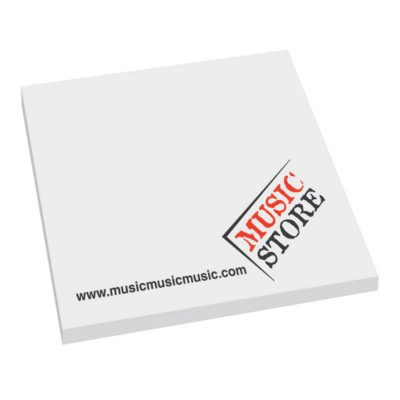 Picture of 3 X 3 INCH 75X75MM STICKY NOTES