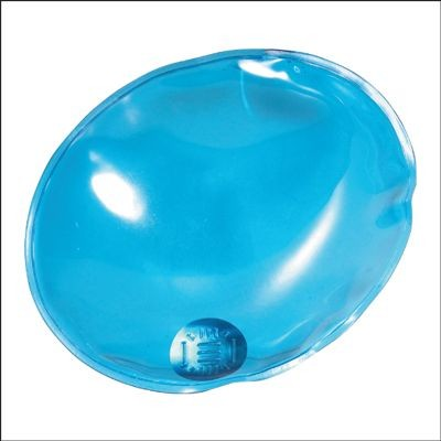 Picture of REUSABLE OVAL SHAPE HAND WARMER HOT PACK in Blue