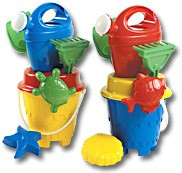Picture of CHILDRENS CASTLE BEACH BUCKET & SPADE SET