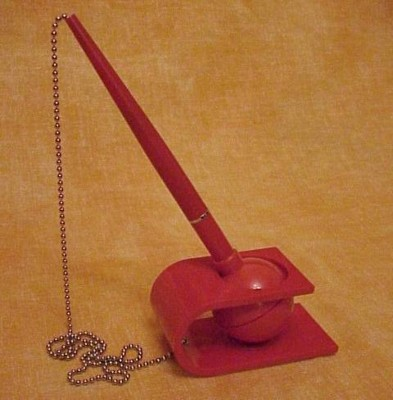 Picture of VERSI DESK STAND PEN in Red