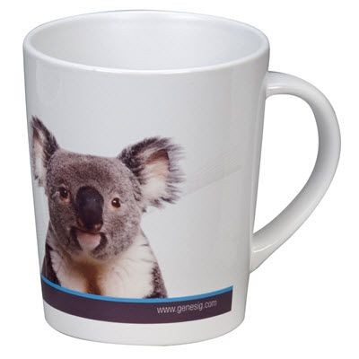 Picture of METRO DYE SUBLIMATION CERAMIC POTTERY MUG in White