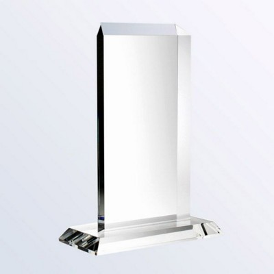 Picture of VERTICAL RECTANGLE GLASS AWARD ON BASE