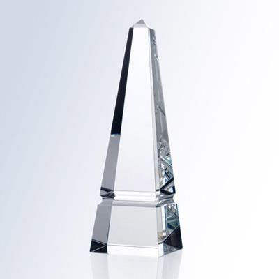 Picture of OPTIC CRYSTAL GROOVE OBELISK AWARD